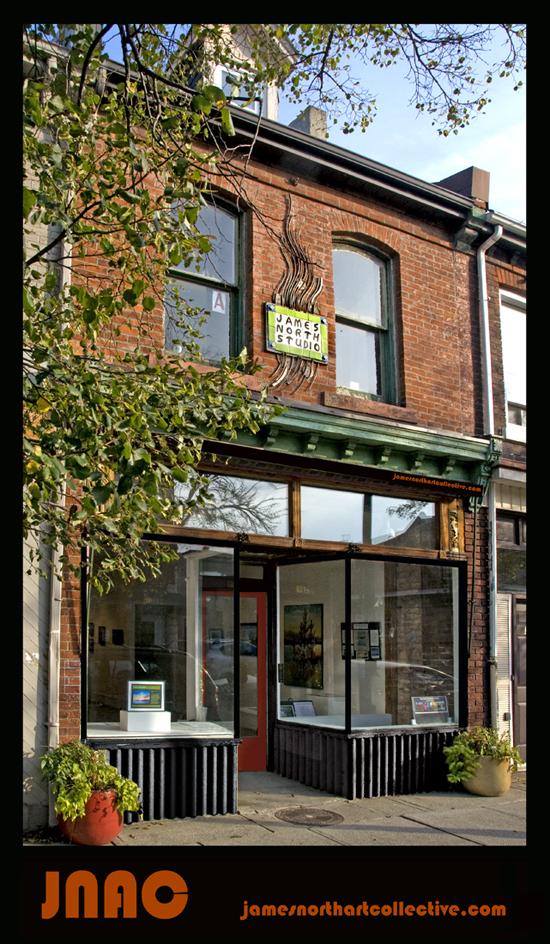 James North Studio, 328 James Street North, Hamilton, Ontario, Canada