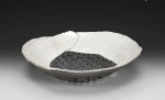 Black & White Raku Bowl
