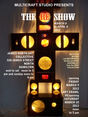 "David McLaughlin, ""the RE show"", March 6 - April 8"
